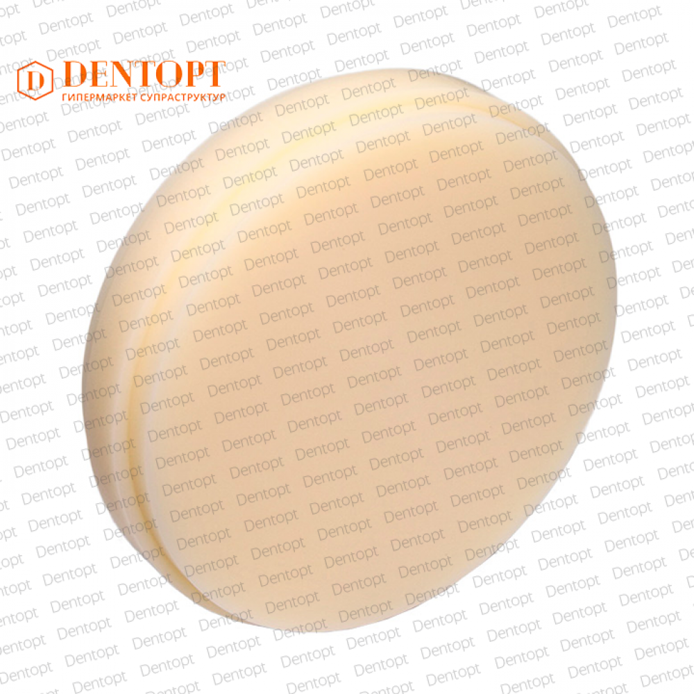 PMMA диск Re-Fine Acrylic 98.5x22 мм цвет A1