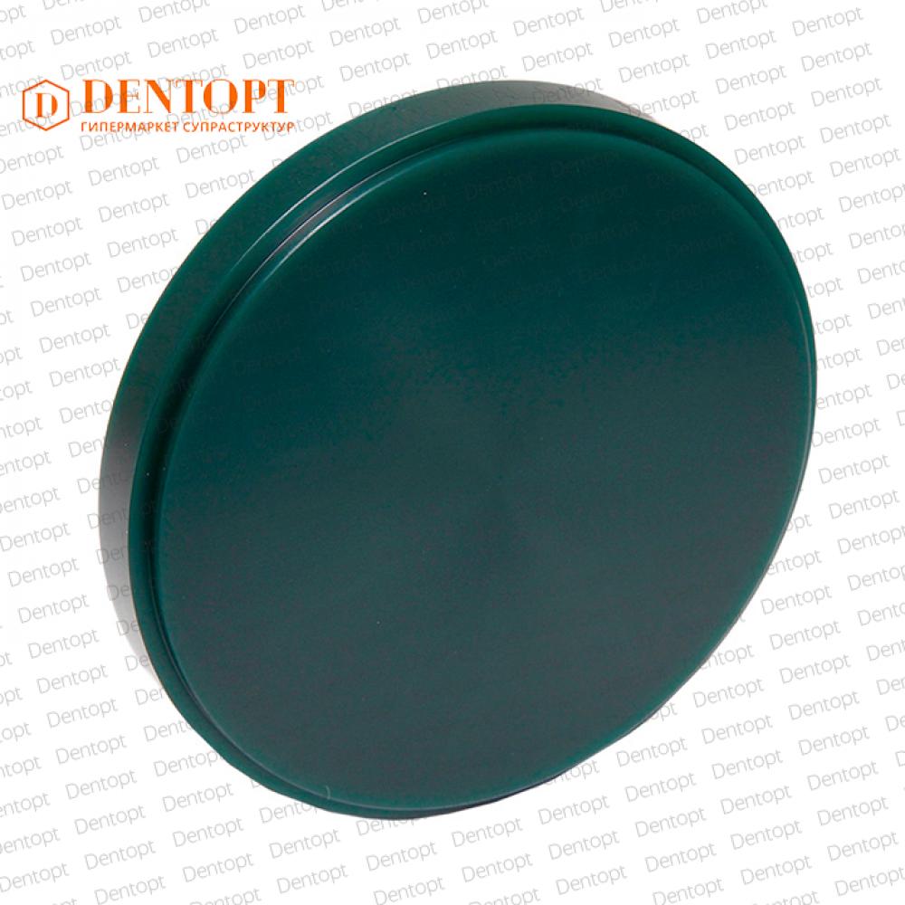 Диск восковой для фрезеровки Carving WAX Green 98x15 мм