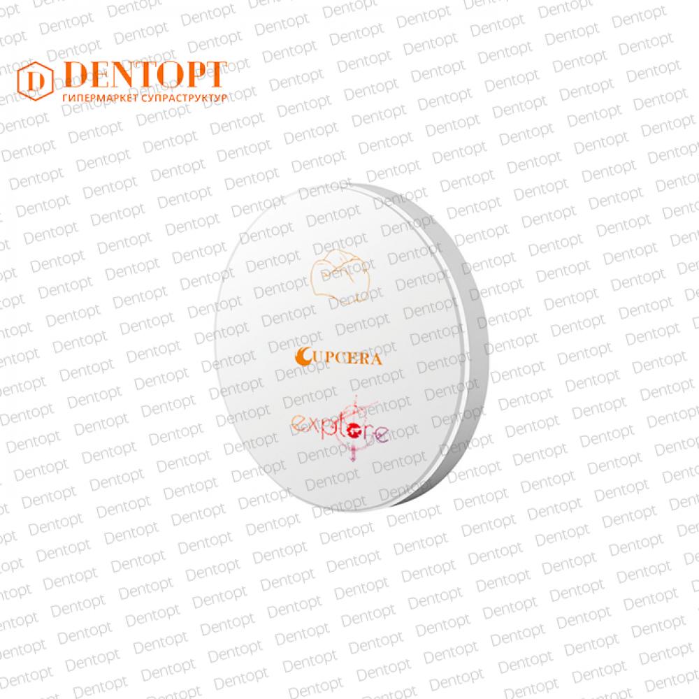 Циркониевый диск 95*20 мм для CAD/CAM Explore Multilayer 4D ML C2