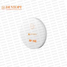 Циркониевый диск 95*10 мм для CAD/CAM TT ML A1