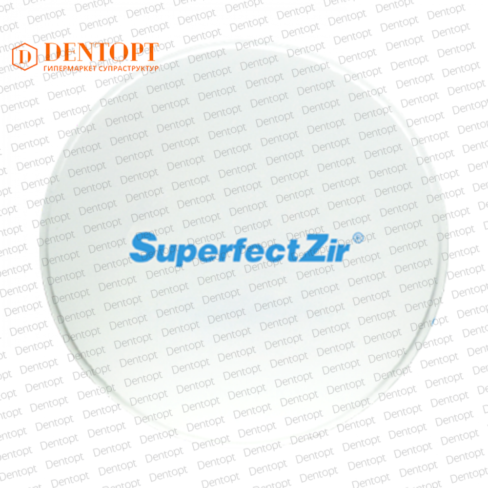 Циркониевый диск 95*12 мм для CAD/CAM SHT C2