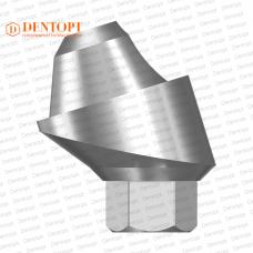 Абатмент угловой мультиюнит, совместимый с MIS Multi-Unit 3.75 G/H=2.5 Угол=17°
