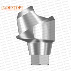 Абатмент угловой мультиюнит, совместимый с ASTRA TECH Multi-Unit 3.5/4.0 G/H=3.5 Угол=30°