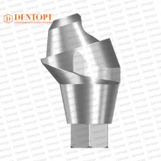 Абатмент угловой мультиюнит, совместимый с  ASTRA TECH Multi-Unit 4.5/5.0 G/H=3.5 Угол=17°