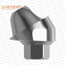 Абатмент угловой мультиюнит, совместимый с MIS Multi-Unit 3.75 G/H=2.5 Угол=30°