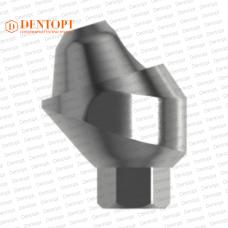 Абатмент угловой мультиюнит, совместимый с MIS Multi-Unit 3.75 G/H=3.5 Угол=17°