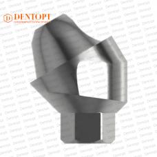 Абатмент угловой мультиюнит, совместимый с MIS Multi-Unit 3.75 G/H=3.5 Угол=30°