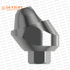 Абатмент угловой мультиюнит, совместимый с MIS Multi-Unit 4.2 G/H=3.5 Угол=17°