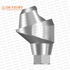Абатмент угловой мультиюнит, совместимый с ASTRA TECH Multi-Unit 3.5/4.0 G/H=3.5 Угол=17°