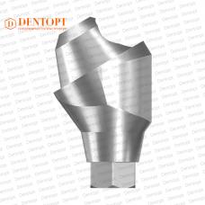 Абатмент угловой мультиюнит, совместимый с ASTRA TECH Multi-Unit 3.5/4.0 G/H=4.5 Угол=30°