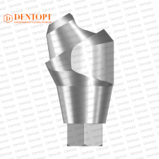 Абатмент угловой мультиюнит, совместимый с ASTRA TECH Multi-Unit 4.5/5.0 G/H=4.5 Угол=30°