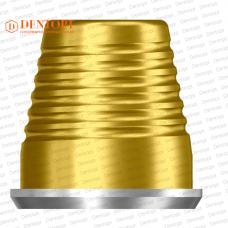 Титановое основание TiN аналог GEO, совместимый с Dentium Implantium Multi-Unit 4.5