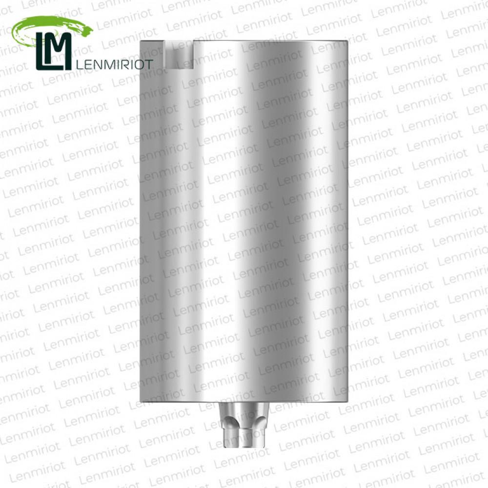 Заготовка индивидуального абатмента D=10 мм для холдера ADM / MEDENTiKA, совместимая с MIS C1 NP