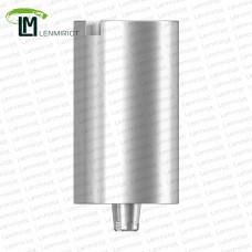 Заготовка индивидуального абатмента D=10 мм для холдера ADM / MEDENTiKA, совместимая с MIS C1 SP