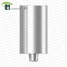 Заготовка индивидуального абатмента D=10 мм для холдера ADM / MEDENTiKA, совместимая с MIS C1 WP
