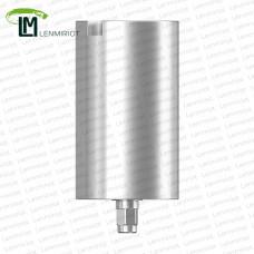 Заготовка индивидуального абатмента D=11.5 мм для холдера ADM / MEDENTiKA, совместимая с XiVE 3.4
