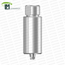 Заготовка индивидуального абатмента D=10 мм для холдера ARUM, совместимая с Dentium Implantium
