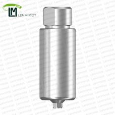 Заготовка индивидуального абатмента D=10 мм для холдера ARUM, совместимая с MIS SP