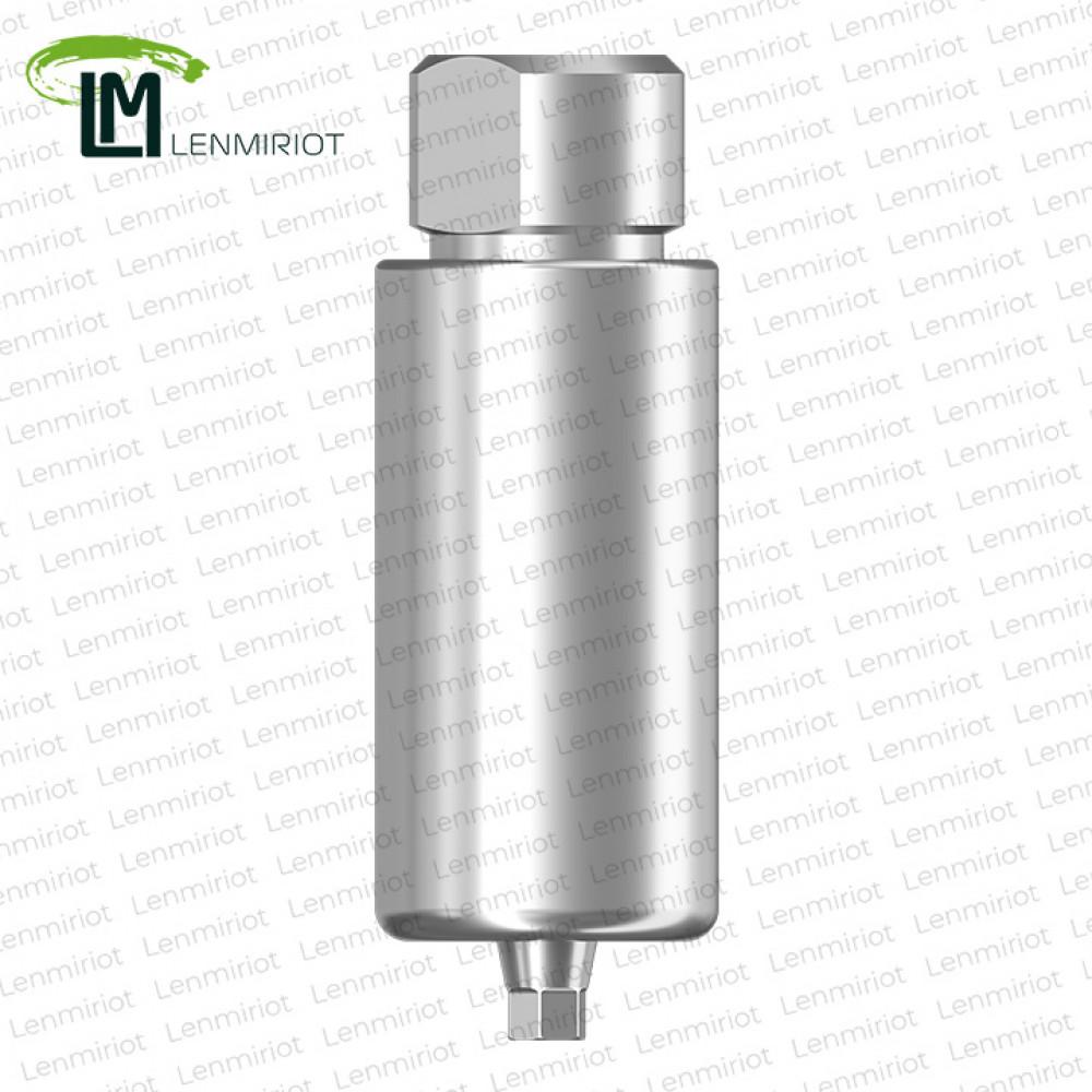 Заготовка индивидуального абатмента D=10 мм для холдера ARUM, совместимая с Osstem Mini