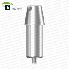Заготовка индивидуального абатмента D=10 мм для холдера ZIRKONZAHN, совместимая с MIS C1 SP