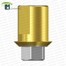 Титановое основание TiN Half, совместимое с Zimmer 3.5 G/H=0.45